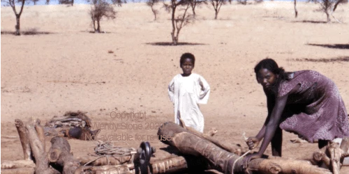 Children_drawing_water_from_a_70m_well_Sudan_1983_wCR
